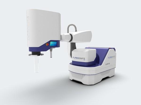 PMB-Alcen 宣布推出 FLASH 放射治疗系统 -- FLASHKNiFE,致力于临床试验。