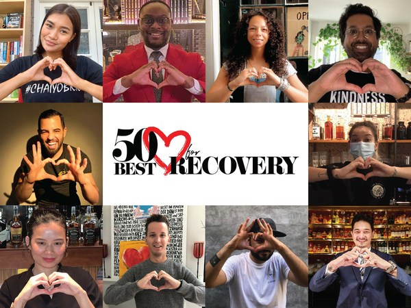 Global bartenders from The World's 50 Best Bars lists support the 50 Best 'Bid for Recovery' Auction