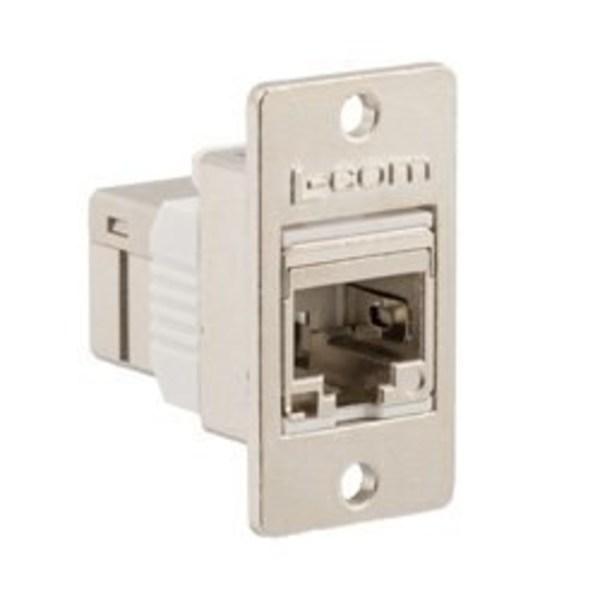 L-com诺通推出了新型压铸超六类/七类馈通RJ45耦合器