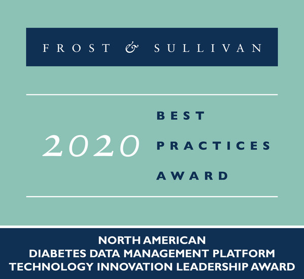 2020 North American Diabetes Data Management Platform Technology Innovation Leadership Award