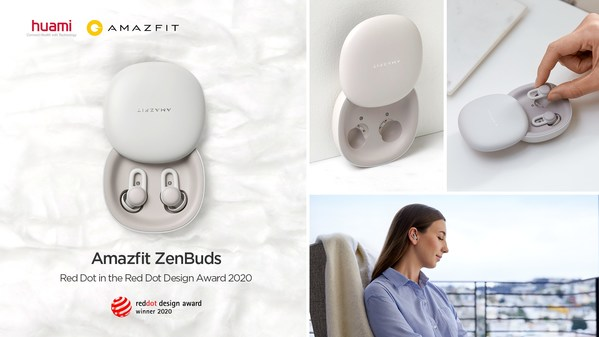 Red Dot Award Winner Amazfit ZenBuds with Noise-blocking In-ear Design, Soothing Sounds and Smart Sleep Monitoring Starts Crowdfunding from June 30