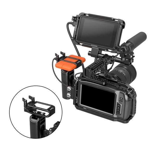 SmallRig SSD holder for LaCie Rugged SSD: Maximize the Blackmagic Pocket Cinema Camera 4K/6K workflow