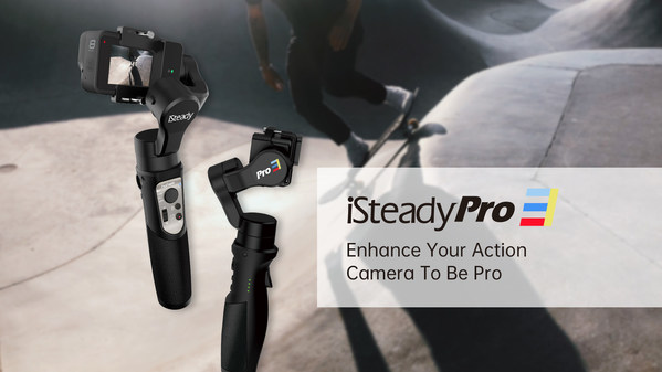 Hohem isteady pro 3 action camera gimbal for GoPro hero 8