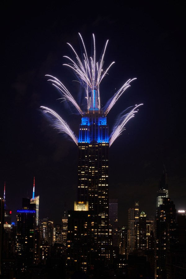 Empire State Building Grand Finale 44th Annual Macy's July 4th Fireworks® Spectacular