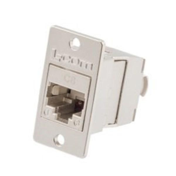 L-com诺通发布新型8类免工具Keystone母头和现场端接RJ45插头,支持PoE++