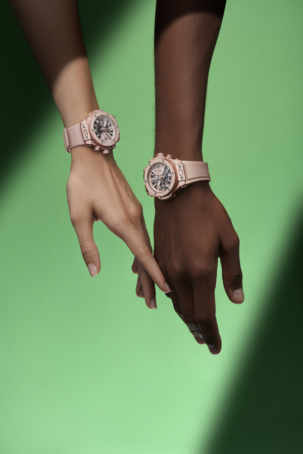 Hublot Launches the Big Bang Millennial Pink