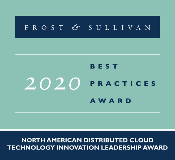 2020 North American Distributed Cloud Technology Innovation Leadership Award
