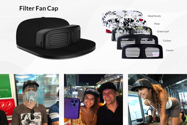 Inspired by PPE Products, InnokinCares Launches New Product - Filter Fan Cap (FFC)
