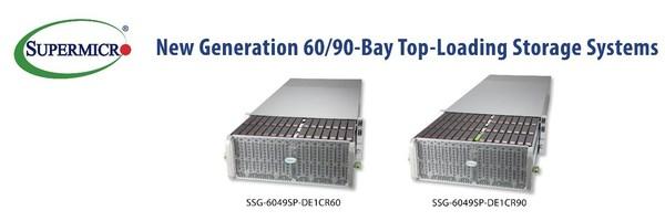 Supermicro 推出新一代顶部加载存储系统 适用于大容量云规模部署