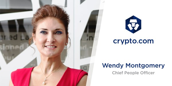 Crypto.com Appoints Wendy Montgomery as Chief People Officer.