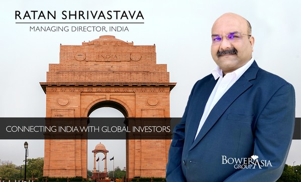 BowerGroupAsia Welcomes Ratan Shrivastava as new Managing Director for India