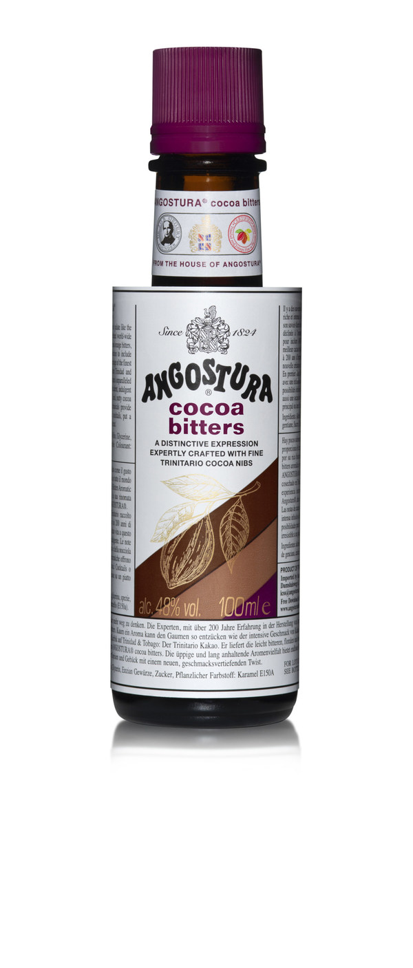 Angostura Launches Latest Innovation-Cocoa Bitters