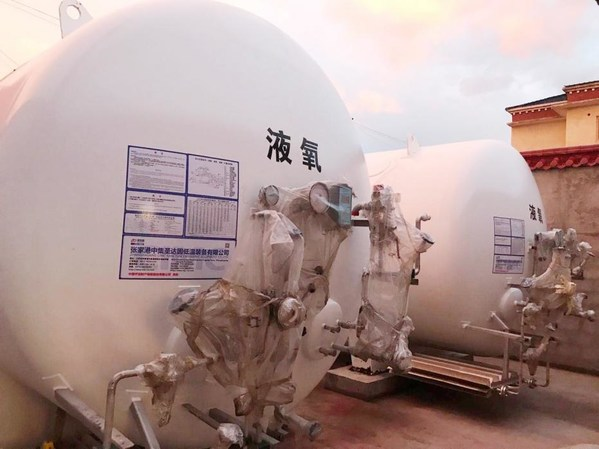 CIMC Sanctum provides 72 liquid oxygen storage tanks for oxygen-deficient Tibet