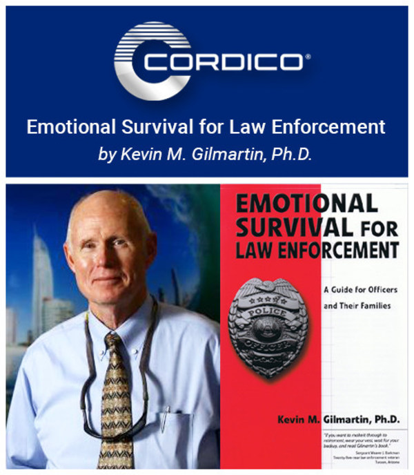 Cordico Announces Exclusive Partnership With 'Emotional Survival' Author Dr. Kevin Gilmartin