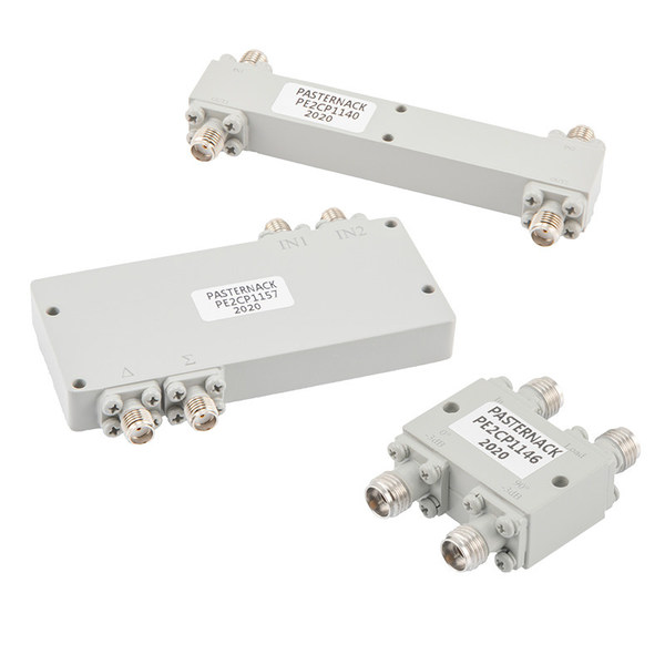 Pasternack Introduces New RF Hybrid Couplers with Operating Frequency Range up to 40 GHz