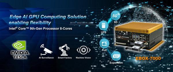 SINTRONES Edge AI GPU Computing Solution enabling flexibility: EBOX-7000