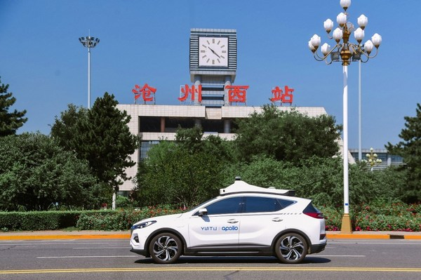 Baidu Opens Apollo Go Robotaxi Service to the Public in Cangzhou