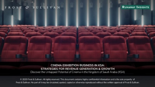 Frost & Sullivan - cinema exhibition in KSA