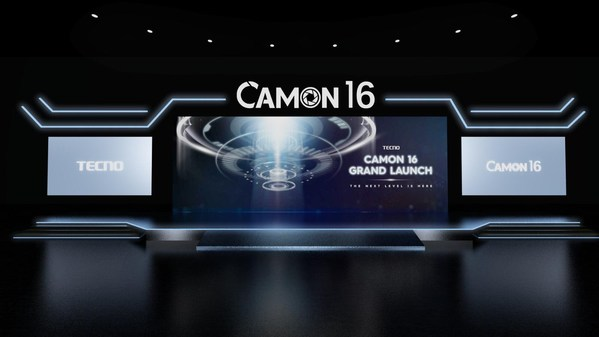 TECNO CAMON 16 series is Coming with the First Online AR Launch Soon