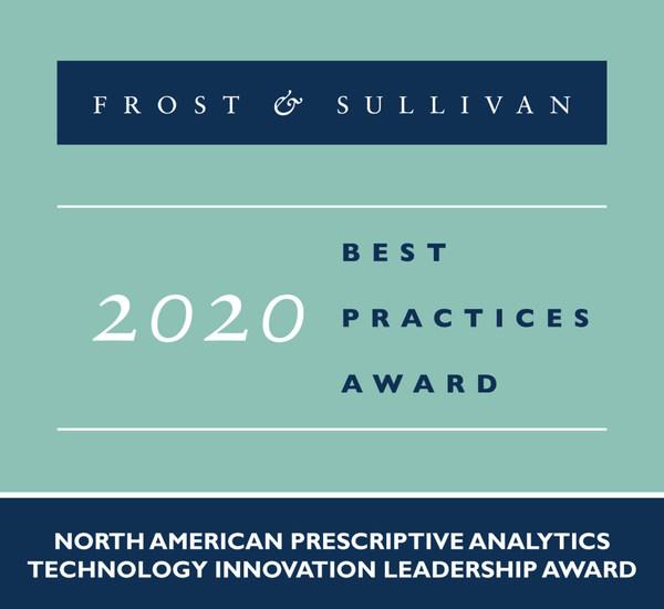 2020 North American Prescriptive Analytics Technology Innovation Leadership Award