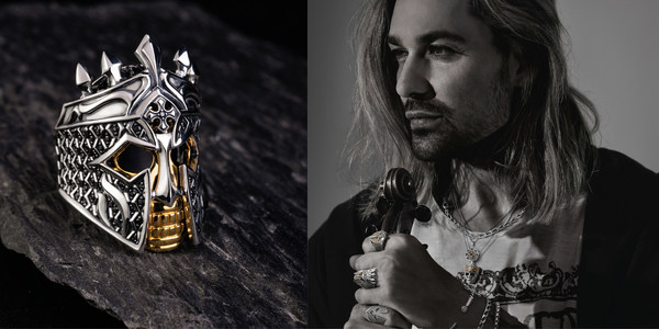 Rebel at heart: David Garrett and THOMAS SABO relaunch their co-operation