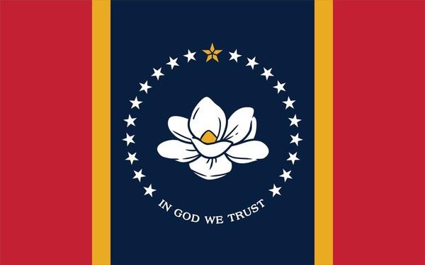 Mississippi's new In God We Trust flag