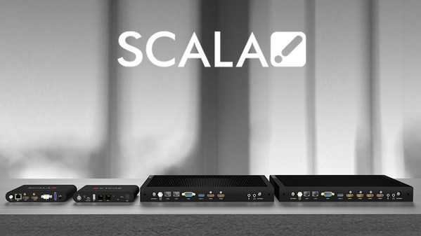 Scala Launches New Entry-Level and Enterprise Media Players