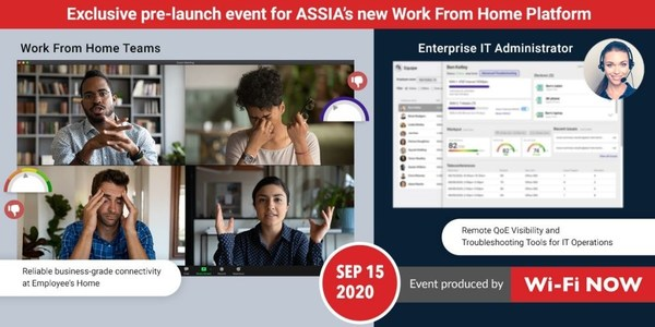 ASSIA announces EQUIPE(TM): Industry's first Work-From-Home Residential Connectivity Management Platform for SMB & Enterprise Markets