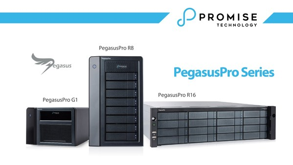 PROMISE Technology Announces PegasusPro Fusion Storage for Post Production Collaboration