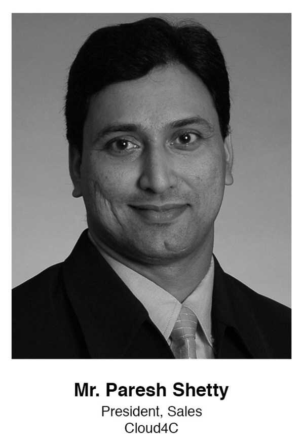 Cloud4Cがセール担当プレジデントにParesh Shetty氏を任命