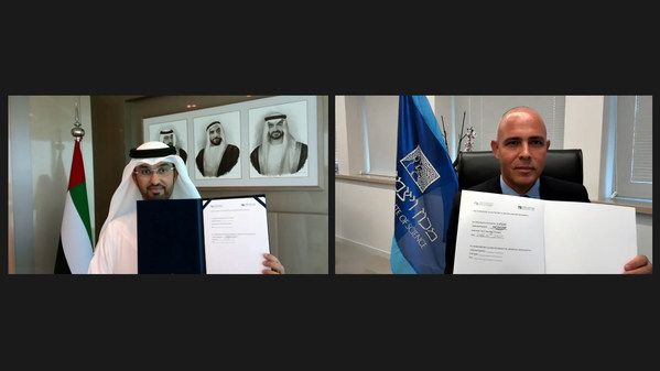 UAE's Mohamed bin Zayed University of Artificial Intelligence and Israel's Weizmann Institute of Science sign first of its kind MoU to collaborate on AI research