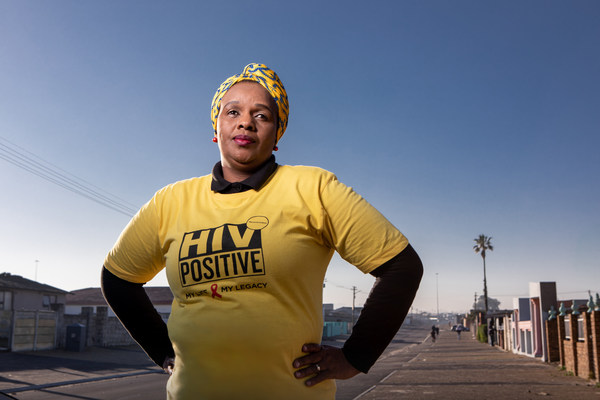 Nombasa Krune-Dumile is a front-line health care worker in Cape Town, South Africa, where she has dedicated her life to supporting tuberculosis patients through treatment. Nombasa