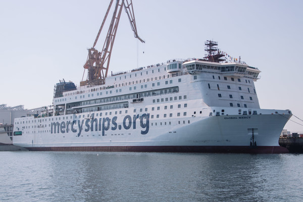 Mercy Ships Announces the Global Mercy, World's Largest NGO Hospital Ship