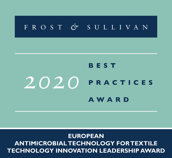 Devan Lauded by Frost & Sullivan for its Antimicrobial Technology with Unique Quaternized Silane Chemistry