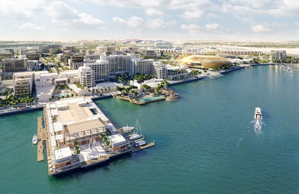 Yas Bay Waterfront - Render