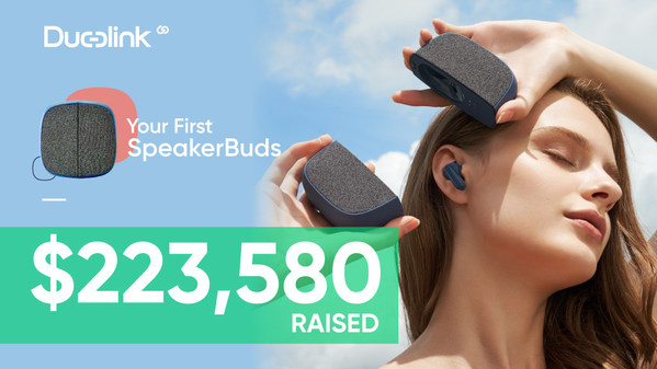 Duolink launches official distribution channel for SpeakerBuds, after crowdfunding project exceeds $223K in pre-orders