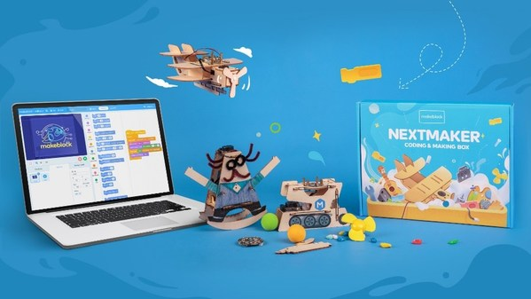 Makeblock launches NextMaker Box - a kit for at-home kids to learn coding and STEM - on Kickstarter