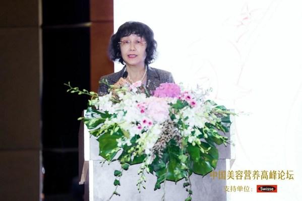 中国营养学会营养与保健食品分会孙桂菊副主任委员