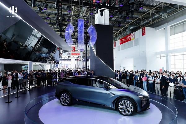 Human Horizons' Super SUV, HiPhi X, Debuts at 2020 Beijing International Auto Show