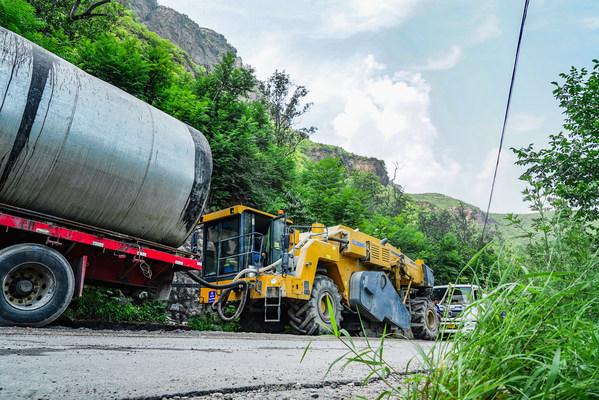 XCMG เปิดตัวเทคโนโลยีซ่อมบำรุงถนนแบบยั่งยืนและเป็นมิตรต่อสิ่งแวดล้อม