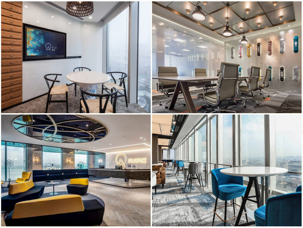 ATLAS 寰图办公空间根据所在城市特色,打造融入当地人文色彩的空间设计