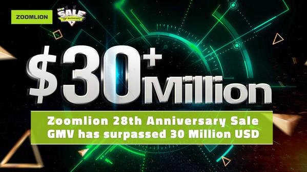 ZOOMLION 28th Anniversary Sale สร้างสถิติใหม่ กวาดยอดขายถล่มทลาย