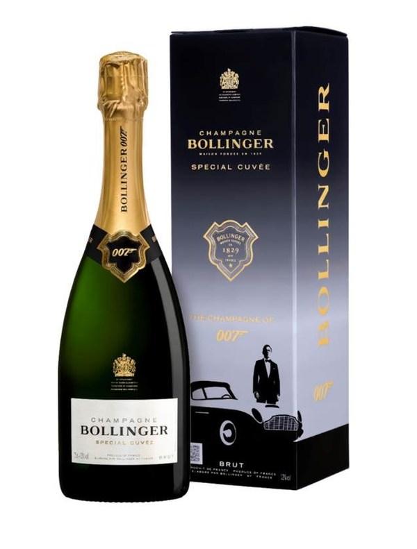 堡林爵推出特级香槟007礼盒