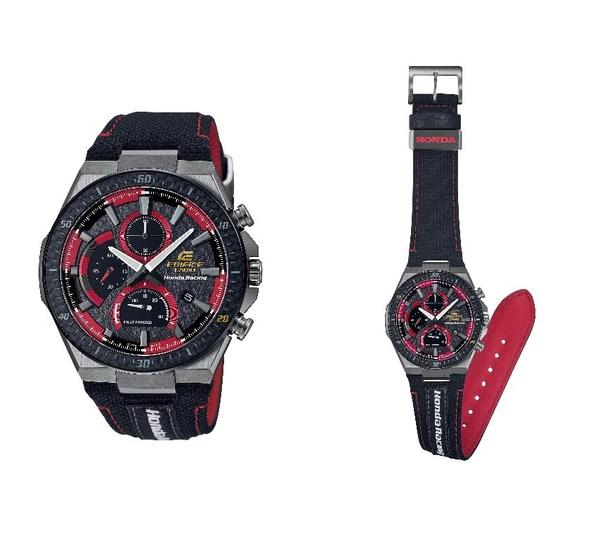 Casio phát hành các mẫu đồng hồ EDIFICE - sản phẩm cộng tác với Honda Racing
