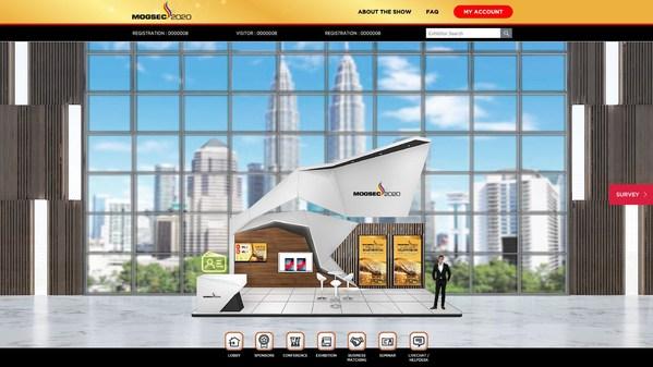 MOGSEC VIRTUAL 2020 – Easily Accessible Exhibitor Booth