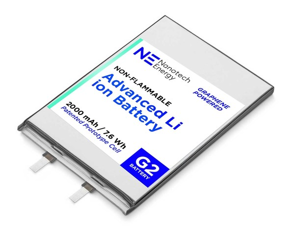 Nanotech Energy to Mass Produce Non-Flammable 18650 Batteries Beginning First Quarter 2021