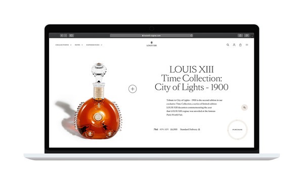 LOUIS XIII Cognac Unveils Its New Immersive E-Boutique, Inspired by Its Founding Philosophy of the Cycle of Time