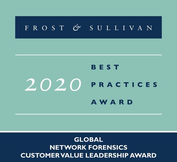 2020 Global Network Forensics Customer Value Leadership Award