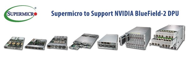 Supermicro、NVIDIA Bluefield-2 DPUをサポート