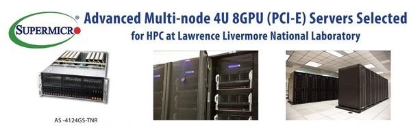 美超微公司系统被LLNL选定用于新冠肺炎研究